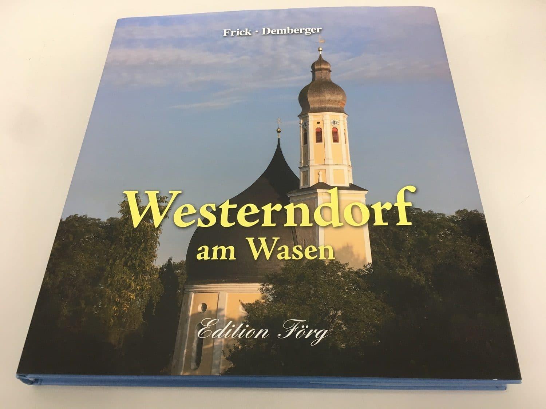 Buch über die Zwiebelturmkirche in Westendorf des Rosenheimer Verlagshauses