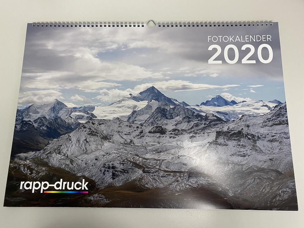 Fotokalender 2020 der Rapp-Druck GmbH