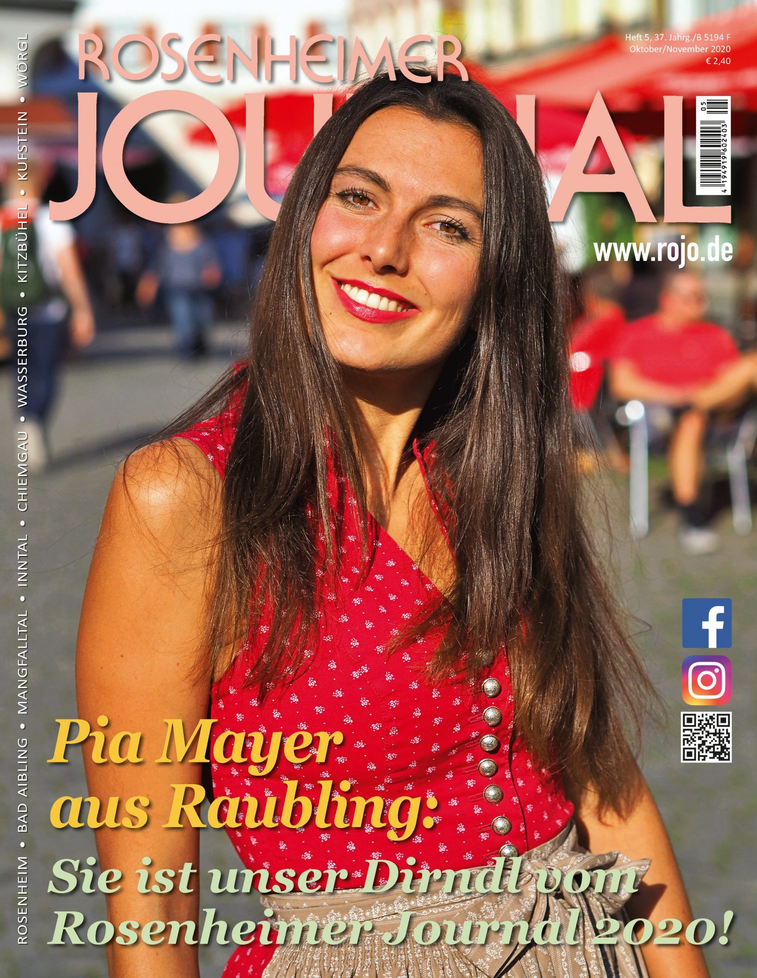 Titel Rosenheimer Journal Ausgabe 10/2020