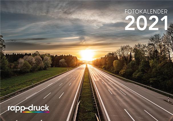 Titelbild des Rapp-Druck Kalender 2021